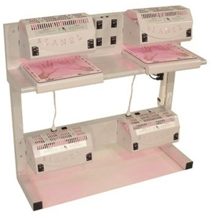 2X2 Manicure + Pedicure Nail Dryer Station (200207)