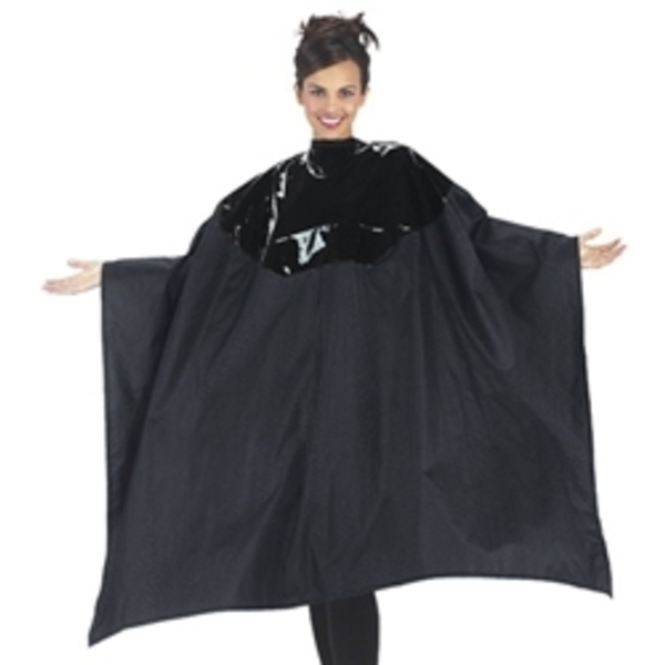 "BETTY DAIN Multi-Purpose Cape 54""W x 60""L Black"