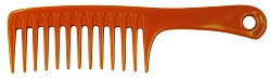 LUXOR Bone Collection - Jumbo Shampoo Comb 10""