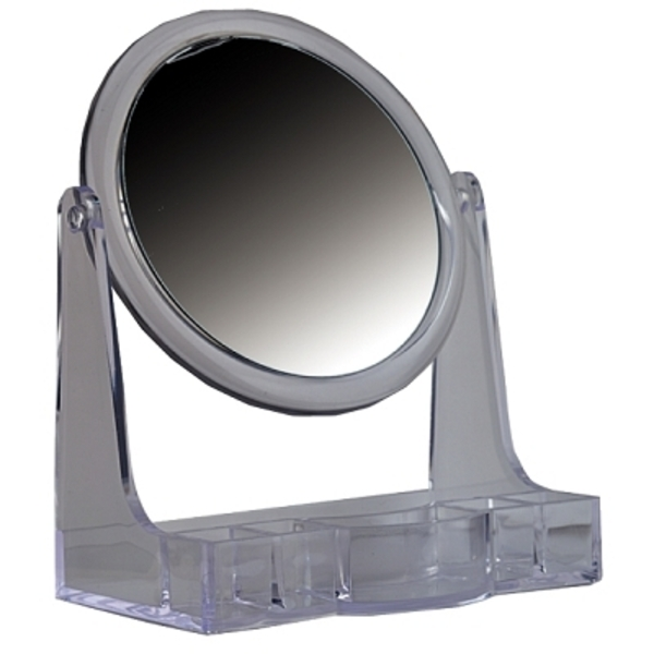 LUXOR Cosmetic Mirrors - See & Store 10X MirrorCo