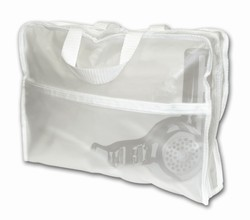 CLEAR-VUE Clear Vue Collection - Briefcase with 2