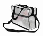 CLEAR-VUE Clear Vue Collection - Purse with Should