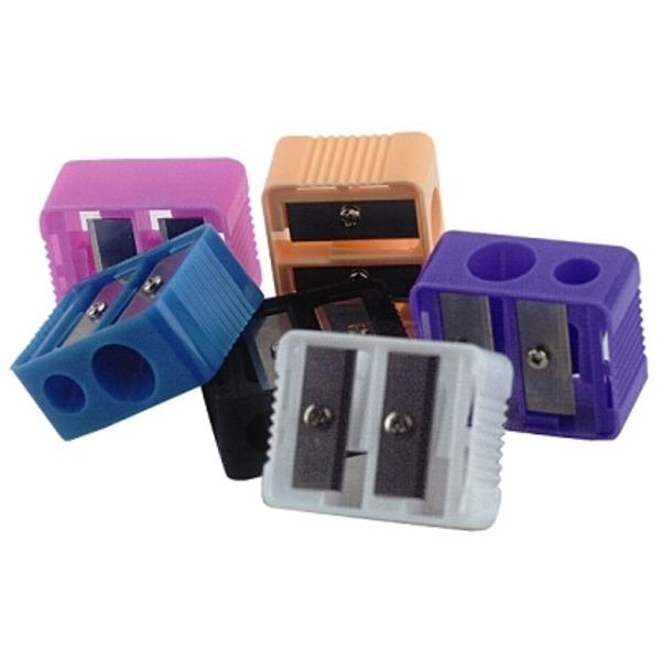LUXOR Cosmetic Essentials - Deluxe Two Sharpeners