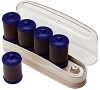 HOT SETTER 5 Piece Flocked Rollers