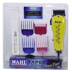 WAHL Taper 2000 Pro Clipper Combo with 4 Piece Gui
