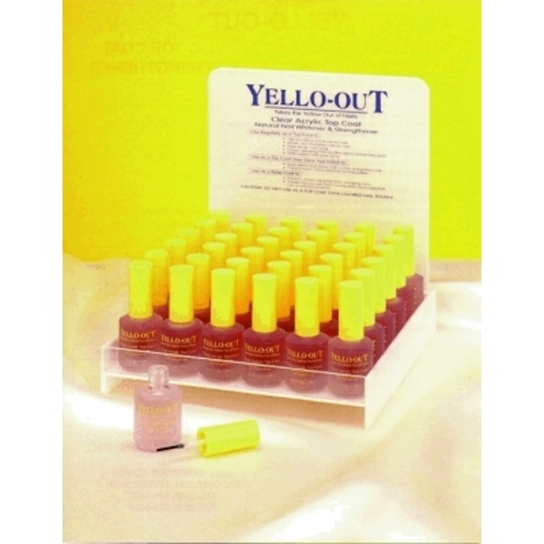 LUXOR Yellow-Out Top Coat 36 Piece Display