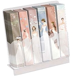 Diva™ Nail File Display - Bridal Theme 48 Files (SP0298BR)