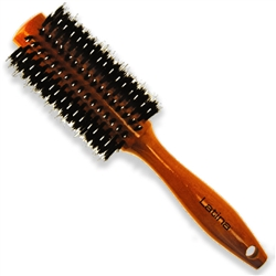 "Orange Wood Boar Brush 2.25"" Barrel (B36MLAT)"