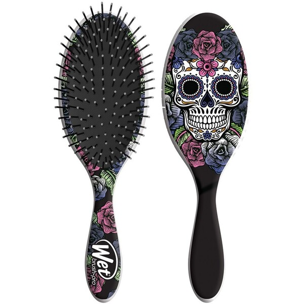 The Wet Brush Detangler - Sugar Skull Collection - Purple Rose (BSC830SKPR)