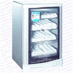 Hot Towel Cabinet with UV Sterilizer 125 Towel Capacity by Meishida (CM-125A)