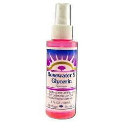 Flower Water Rose Petals Rosewater with Atomizer