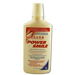 Mouthwash PowerSmile Peppermint 16 fl oz by Jason