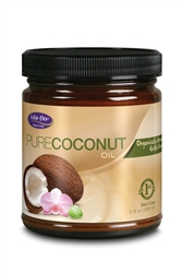 Pure Coconut Oil - Organic Extra Virgin 9 oz.