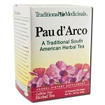 Pau d'Arco Tea 16 Tea Bags by Traditional Medicina