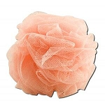 Hydro Body Sponge with Hand Strap Peach by Earth