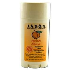 Natural Deodorant Stick Apricot 2.5 oz by Jason N