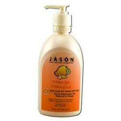 Liquid Satin Soap with Pump Mango & Papaya 16 fl