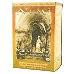 Numi's Collection Assorted Melange 18 Tea Bags by Numi Teas and Teasans / 18 Bags per box / Case Pack of 6 Boxes