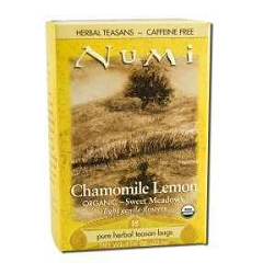 Numi Sweet Meadows Chamomile Lemon Myrtle Herbal T