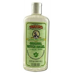Witch Hazel Toner Alcohol-Free with Aloe Vera 11.5
