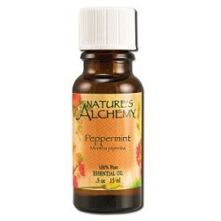 Pure Essential Oil Peppermint 0.5 oz by Nature's