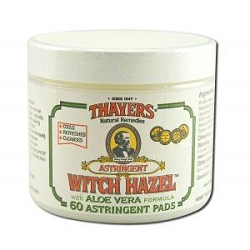 Original Witch Hazel Astringent Pads with Aloe Ver