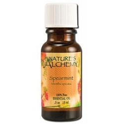 Pure Essential Oil Spearmint 0.5 oz by Nature's A