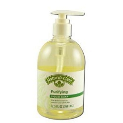 Antiseptic Liquid Soap with Peppermint Oil and Tea