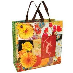 Flower Shopper Bag by Blue Q