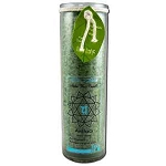 Candle Chakra Jar Unscented Anahata-Green 16 oz