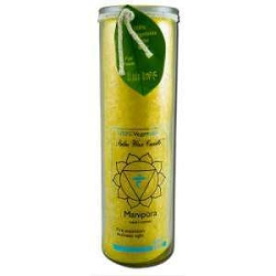 Candle Chakra Jar Unscented Manipura-Yellow 16 o