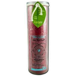 Candle Chakra Jar Unscented Muladhara-Red 16 oz