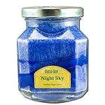Candle Scented Deco Jar Night Sky (Navy Blue) 8.