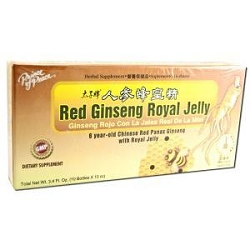 Chinese Red Ginseng with Royal Jelly 10 X 10 CC Bo