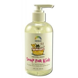 Antibacterial Soap For Kids 8 oz by Rainbow Resear