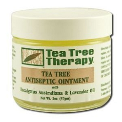 Antiseptic Ointment 2 oz by Tea Tree Therapy 2 o