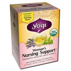 Woman's Nursing Mom Tea 16 Tea Bags by Yogi Tea Co