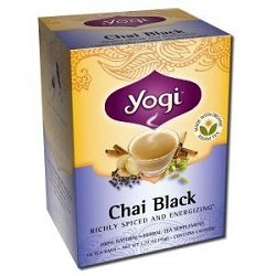 Black Chai Tea 16 Tea Bags by Yogi Tea Company 1