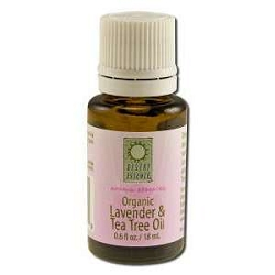 Organic Lavender & Tea Tree Oil 0.6 fl oz by Deser