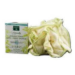 Naturally Anti-Bacterial Bath + Bamboo Flower Spon