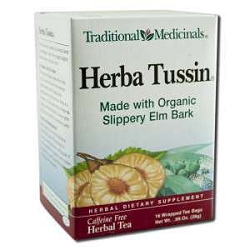 Herba Tussin Tea 16 Tea Bags by Traditional Medici