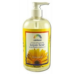Antibacterial Liquid Soap Unscented 16 oz by Rain