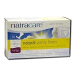 Natural Panty Liners Tanga 30 Liners by Natracare