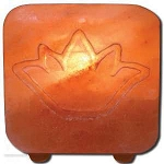 Salt Tea Light Holder Lotus by Ancient Secrets