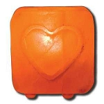 Salt Tea Light Holder Heart by Ancient Secrets