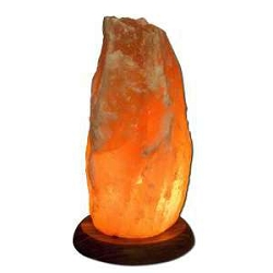 Himalayan Salt Crystal Lights 10 Inch Lamp by Aloh