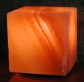 Himalayan Salt Crystal Lights Cube Lamp by Aloha B