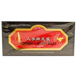 Ginseng & Royal Jelly 30 X 10 CC Bottles by Imperi