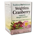Weightless Cranberry Tea 16 Tea Bags by Traditiona