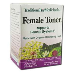Female Toner Tea 16 Tea Bags by Traditional Medici